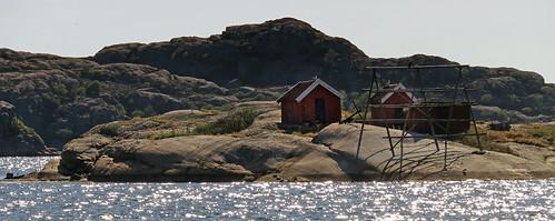 Island on Bohuslan Coast of Sweden