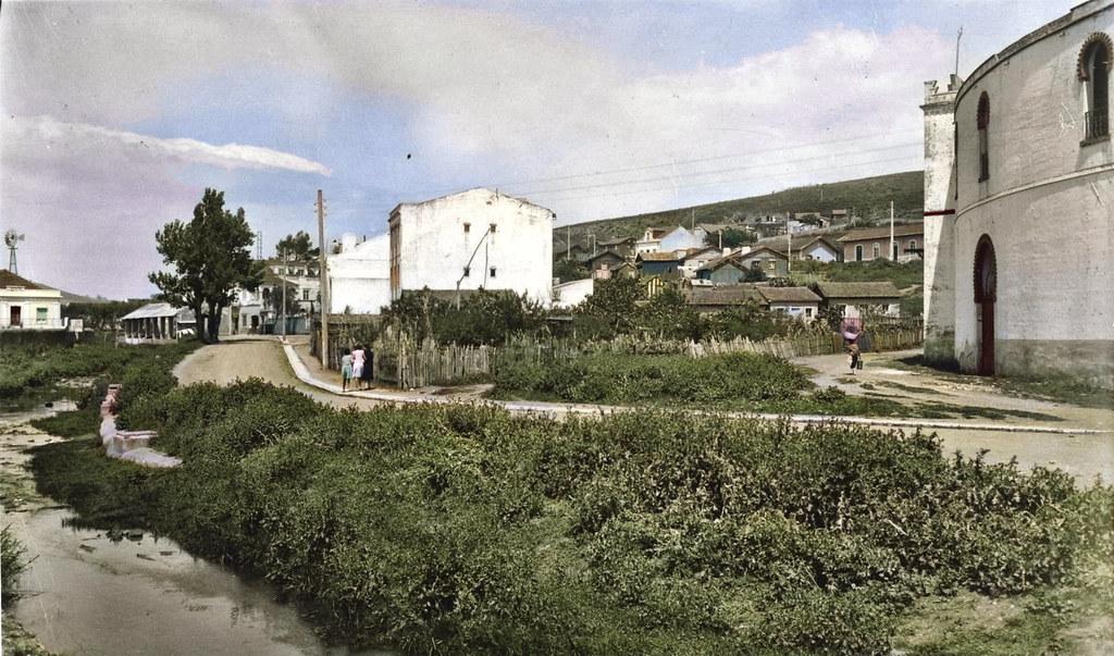 Estrada da Carapuça, Algés, 1941