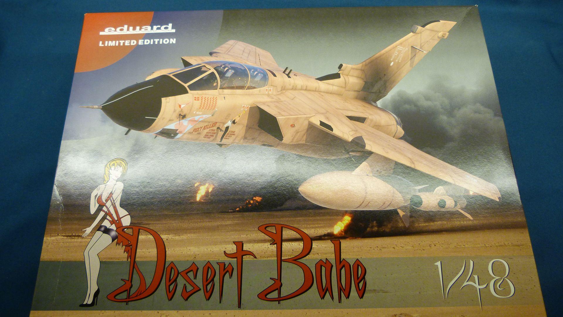"Eduard 1/48 Tornado GR.1 Limited edition ""Desert Babe"" 49649511477_ee88e22728_o"
