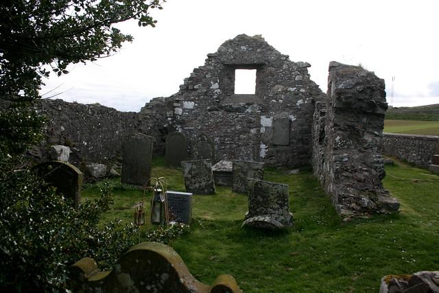 Ruined chapel in Craigeven