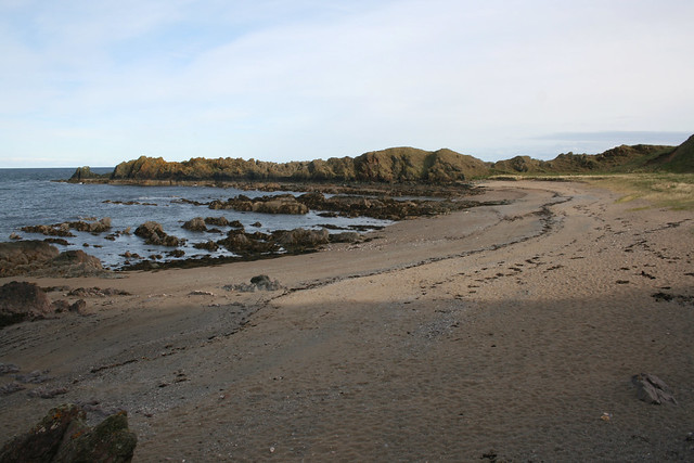 The coast at Cowie