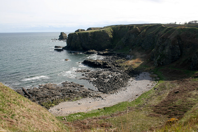 The coast south of Muchalls