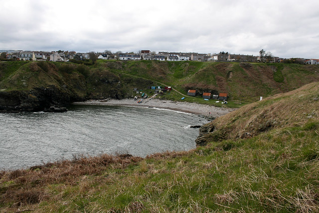 The coast north of Newtonhill