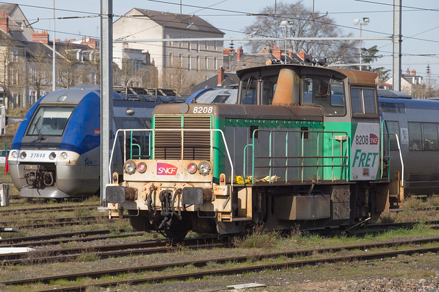 SNCF Y8000 No. 8208 Nevers