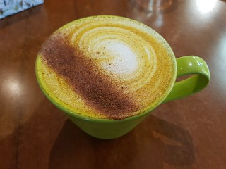 Turmeric Latte at The Green Edge