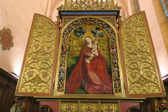 La Vierge au Buisson de roses
