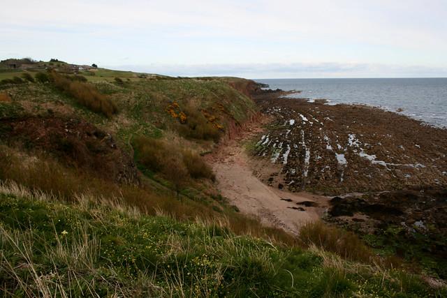 The coast north of Stonehaven