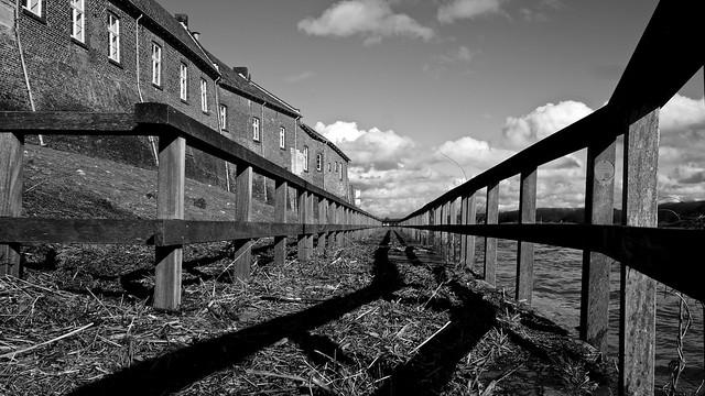 Loopbrug na hoogwater / Kessel