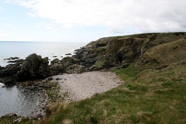 The coast south of Nigg Bay