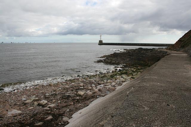 The coast in Aberdeen