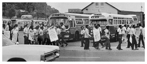 Transit workers wildcat over Metro takeover: 1973 | by Washington Area Spark