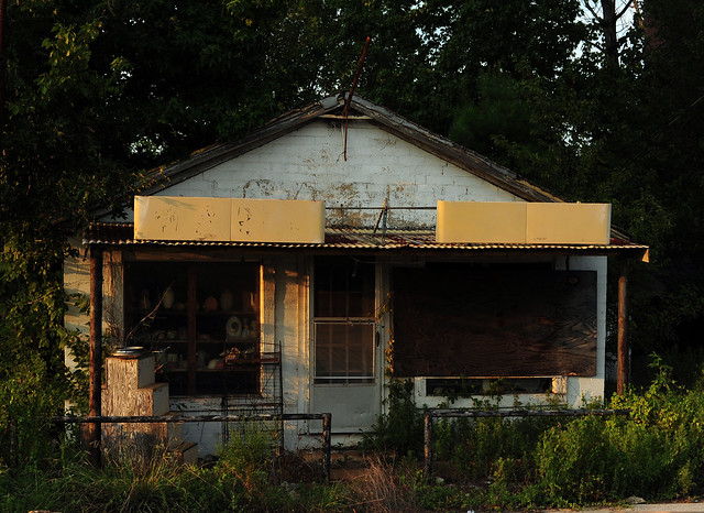 Abandoned Guthrie Cafe - Wright City, Texas