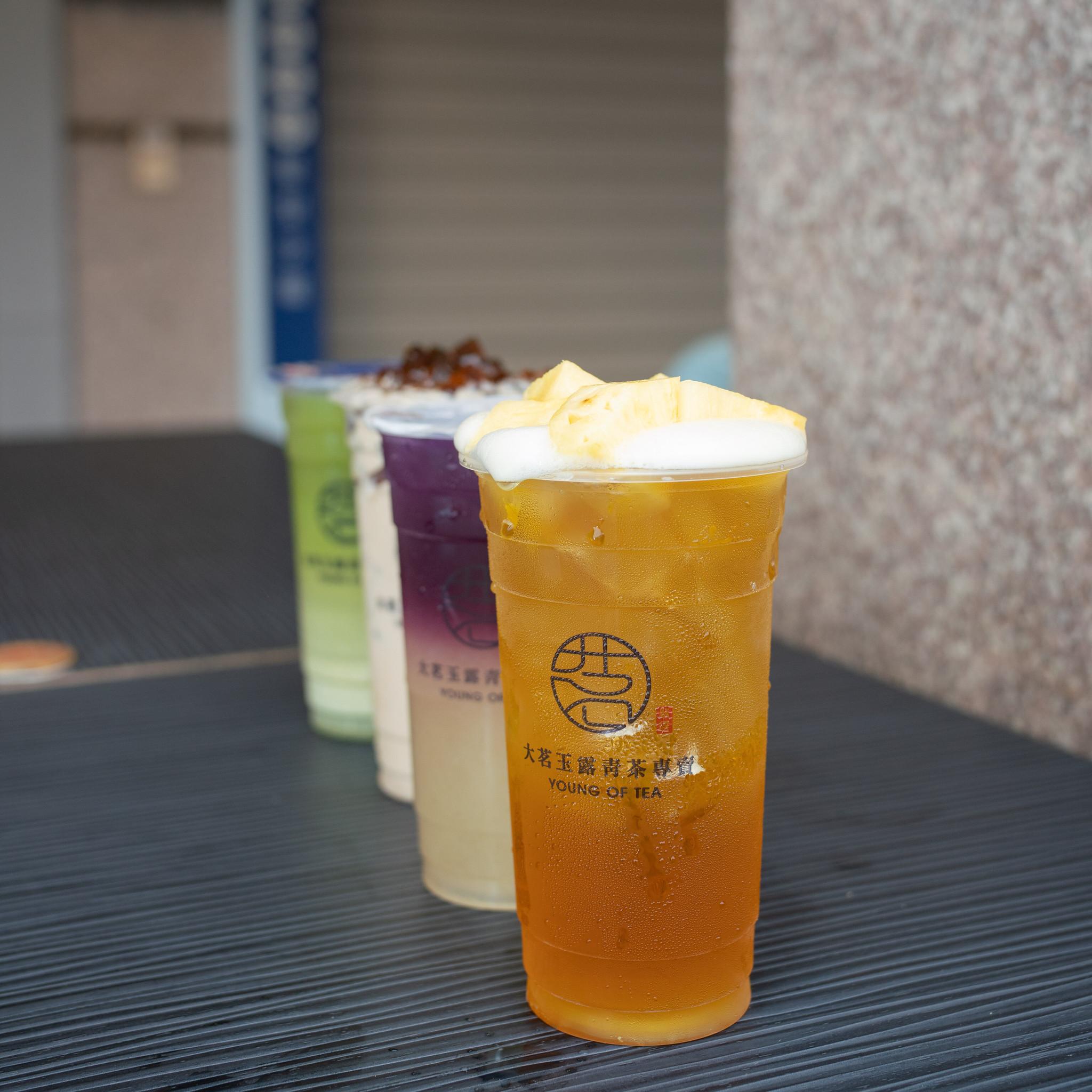 大茗玉露青茶專賣-仙草嫩奶