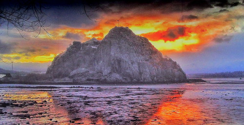 Dumbarton  Rock, west Dunbartonshire, Scotland