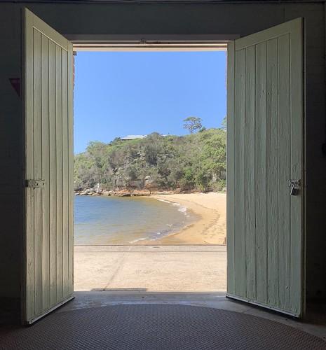 doors view qstation northhead sydneyharbournationalpark sydney nsw