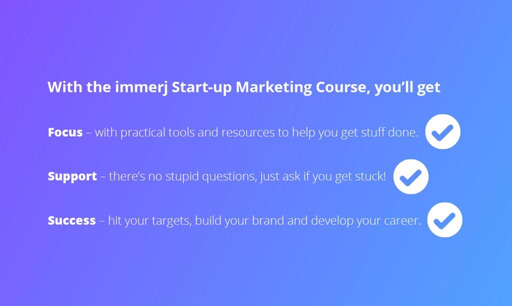 immerj Startup Marketing
