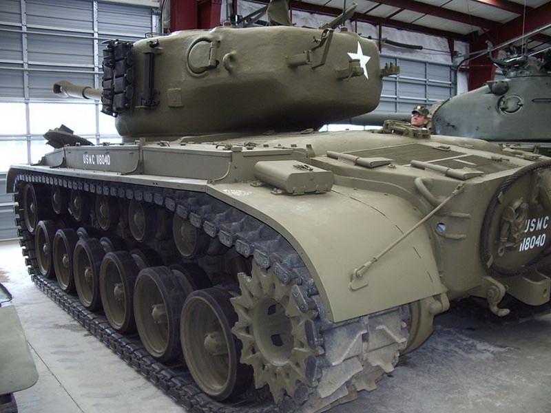 M26A1 Pershing 2