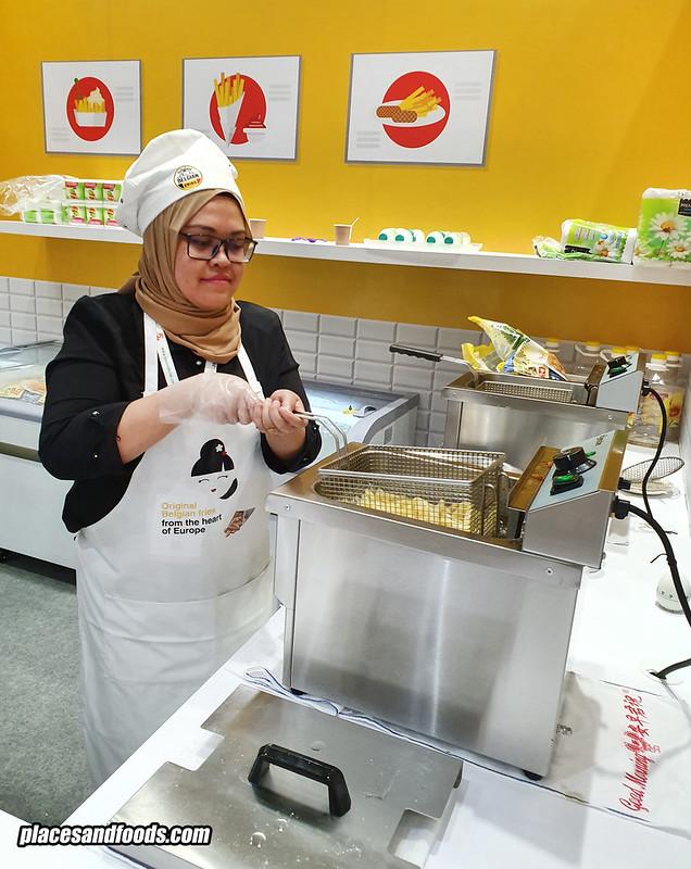 belgian fries malaysia cooking