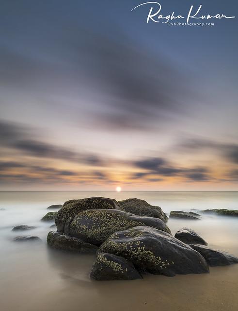 Kovalam Beach Sunrise