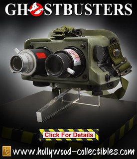 Hollywood Collectibles Group《魔鬼剋星》測鬼夜視鏡 Ecto Goggles 1:1 比例道具複製品 普通版/HCG限定版