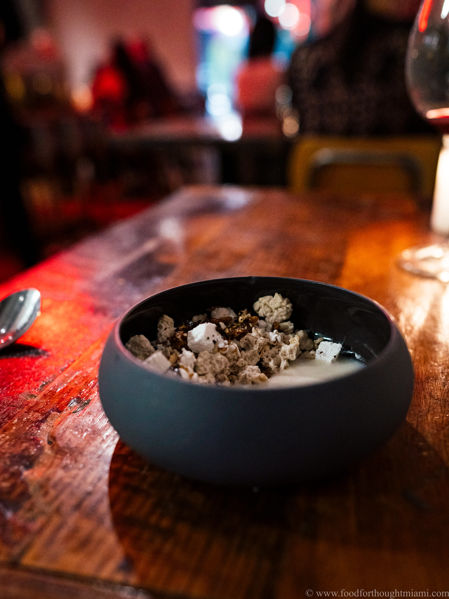 Foie Gras Milk &  Cereal - Alter (Wynwood)