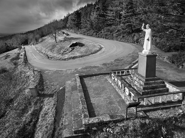 Christ the King Statue, Glen of Aherlow, Tipperary