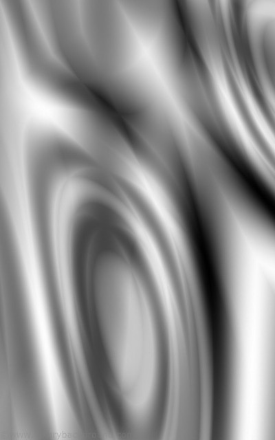 Phone silver fluid art wallpaper