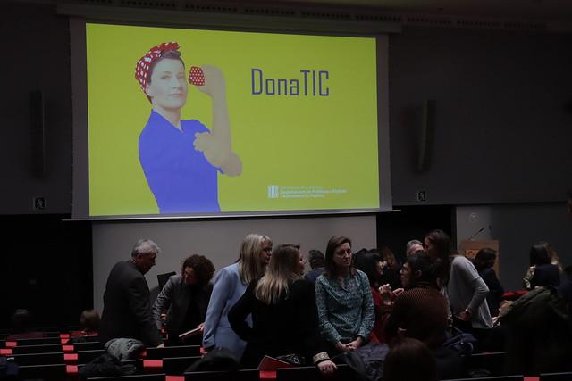 Jornada de presentació del Pla DonaTIC