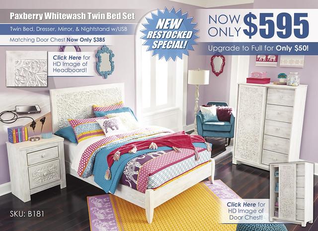 Paxberry Twin Bedroom Set wInserts_B181-87-MOOD-B_ALT_Complete