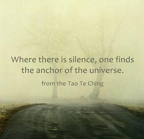 tao te ching silence as anchor