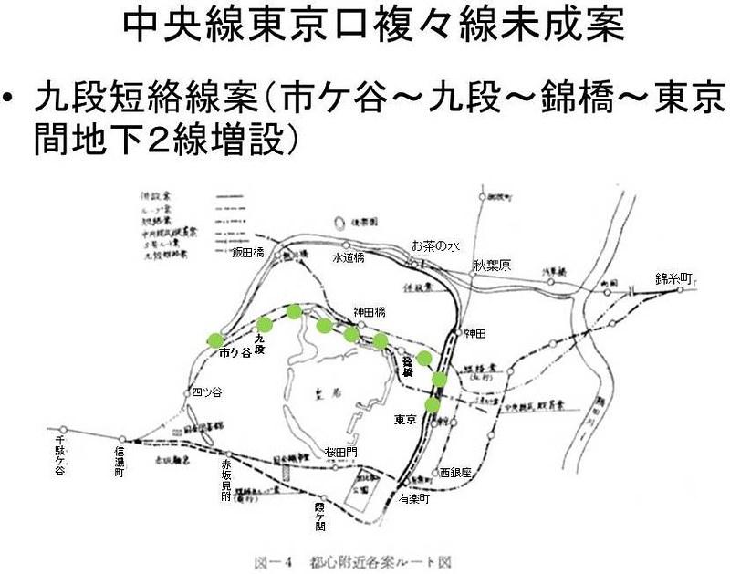 中央線東京口複々線化未成線案 (8)