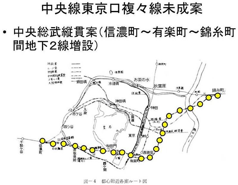 中央線東京口複々線化未成線案 (4)