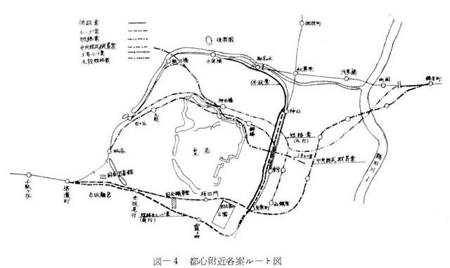 中央線緩行線東京駅複々線化ルート案