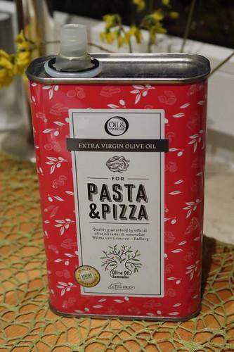 Extra Virgin Olive Oil für Pasta & Pizza von Oil & Vinegar