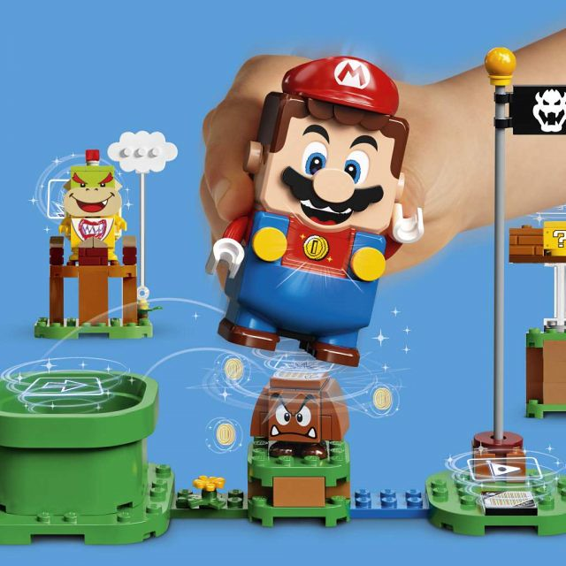 把電玩場景整套搬來現實世界!? 樂高 × 任天堂《樂高超級瑪利歐》LEGO Super Mario 全新宣傳片、玩法大公開!!!