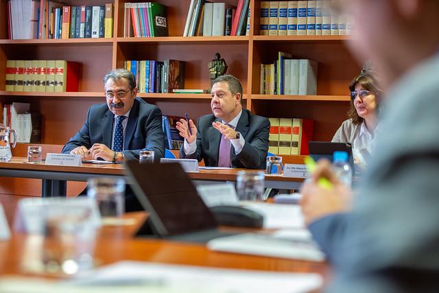 Reunión del Comité Ejecutivo de Respuesta y Preparación Frente al Coronavirus