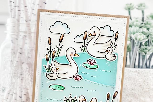 swan soiree (Lawn Fawn inspiration week)