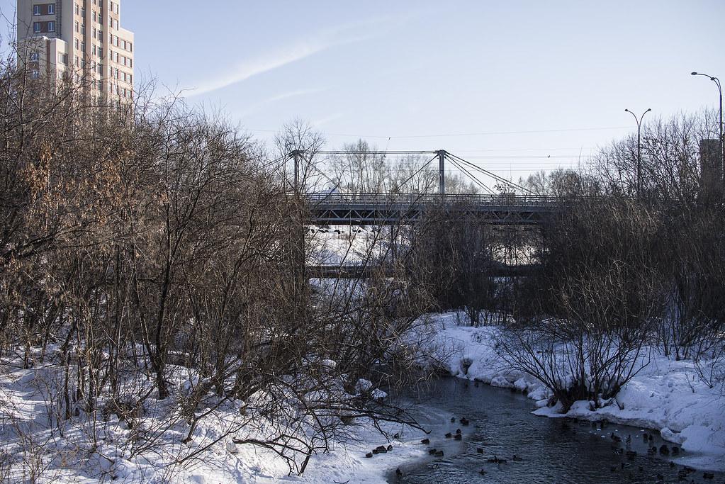 Искитимский мост пр. Ленина.