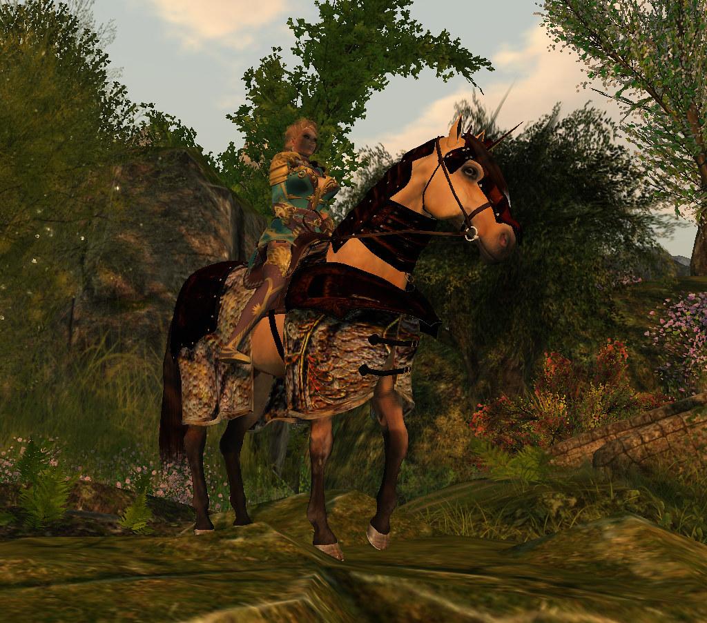 Elite Equestrian Milanese 1560 Horse Armor Plain 2