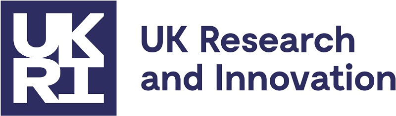 The logo of UK Research and Innovation