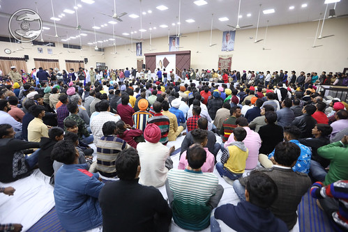A view of devotees