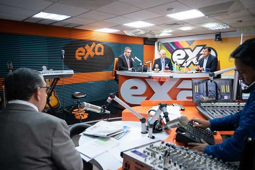 ENTREVISTA AL PRESIDENTE DE LA ASAMBLEA NACIONAL, CÉSAR LITARDO EN RADIO EXA FM. QUITO, 12 DE MARZO 2020