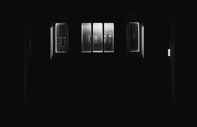 low-key front door
