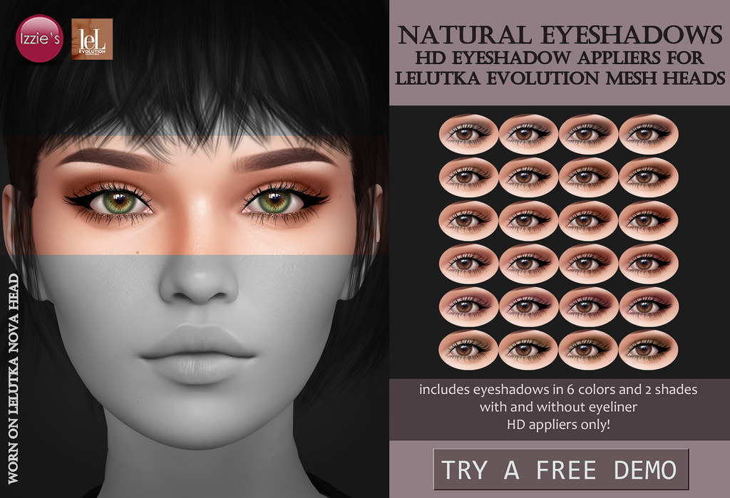 Natural Eyeshadows (LeLutka Evolution HD)