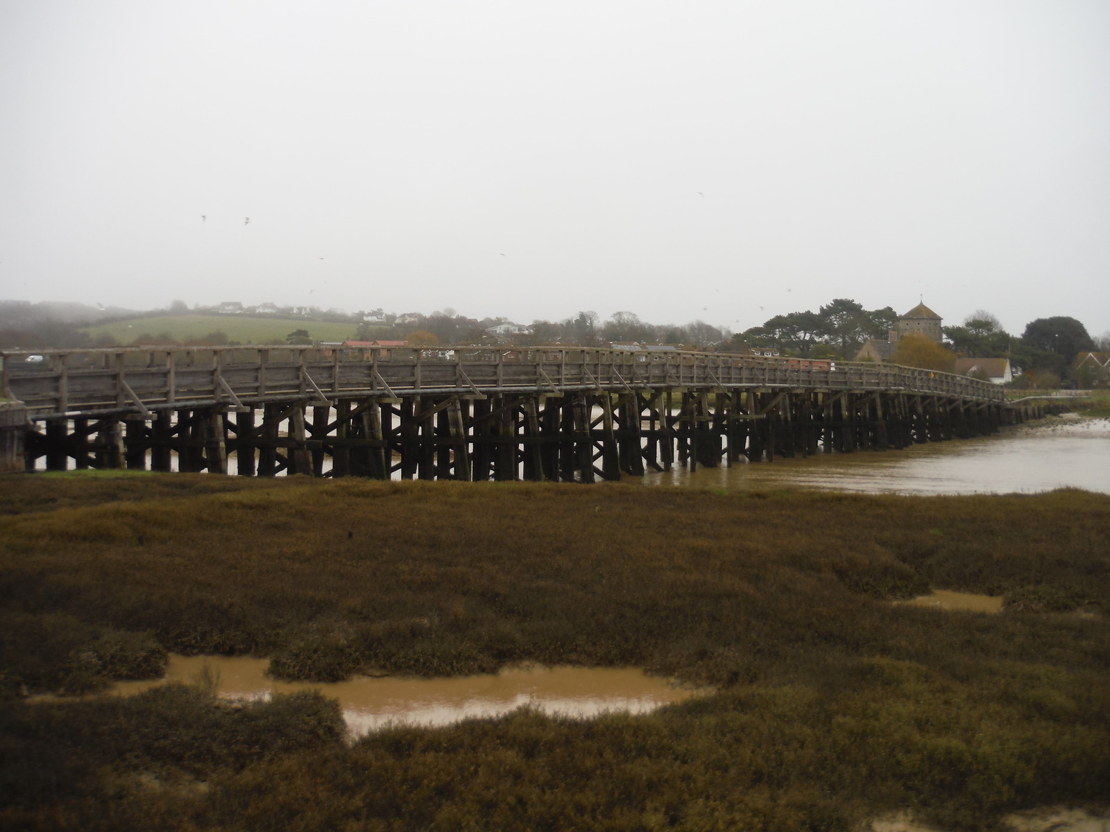 Old Shoreham Bridge (over River Adur) SWC Walk 26 - South Downs Way: Amberley to Shoreham-by-Sea or Lancing