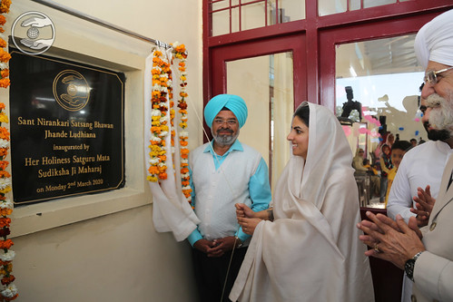 Her Holiness inaugurated Jhande Ludhiana Bhawan