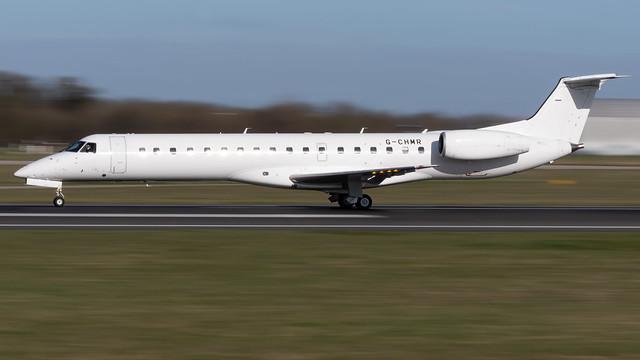 Eastern Airways G-CHMR ERJ-145MP EGCC 12.03.2020