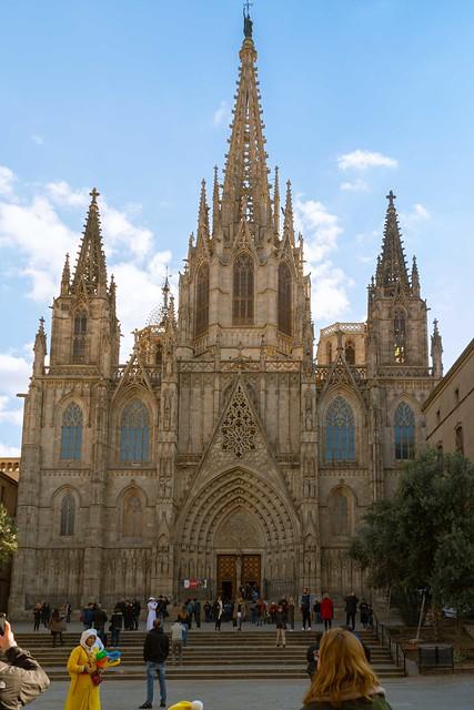 2019-11 05 Barcelona Cathedral, Barcelona, Spain.