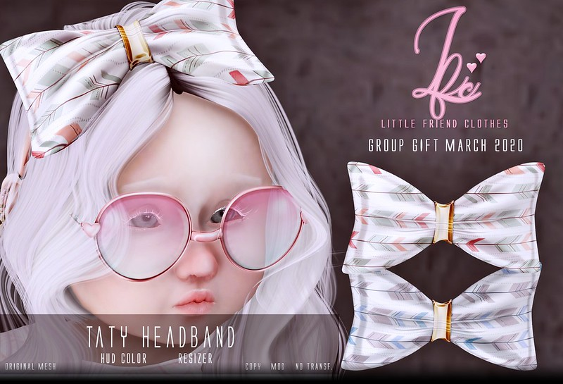 {L.F.C} Taty Headband Group Gift March. 2020