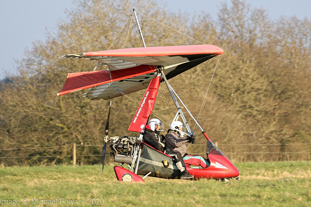 G-CCDZ - 2003 build Mainair Sports Pegasus Quantum 912, circuit training at Darley Moor